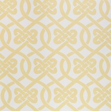 Knotted 15' x 27'' Trellis Wallpaper