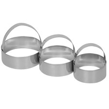 3 Piece Biscuit Cutter