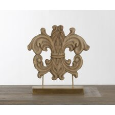 Decorative Wooden Carving on Stand
