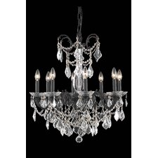 Athena 8 Light Crystal Chandelier