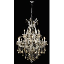 Maria Theresa 19 Light Chandelier with Chain