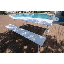 Air Aluminum Picnic Bench
