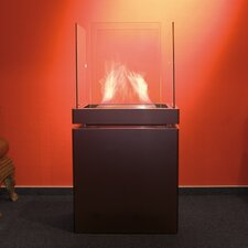 Semi Flame Ethanol Fireplace