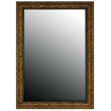 Olde World Copper Framed Wall Mirror