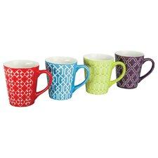 4 Piece 13 oz. Mug Set (Set of 4)