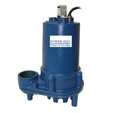 1/2 HP Effluent Submersible Pump with 11 Amps Manual Operation
