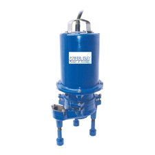 2 HP Grinder High Volume Submersible Pump with Double Seal 15 Amps