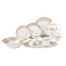 Isabella 57 Piece Dinnerware Set