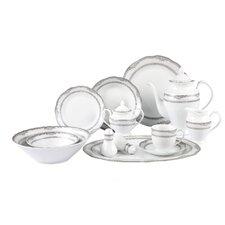 Victoria 57 Piece Dinnerware Set