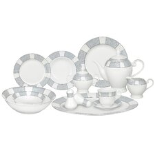 Domus 57 Piece Porcelain Dinnerware Set