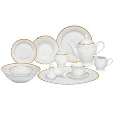 Ricamo 57 Piece Porcelain Dinnerware Set