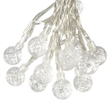 Solar 50 Light Strawberry Bulb String Light Set