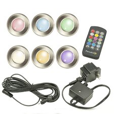 Low Voltage LED Multi Color Deck Light (Set of 6)