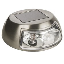 Solar 2.4 Lumen Solar Stainless Steel Deck Light
