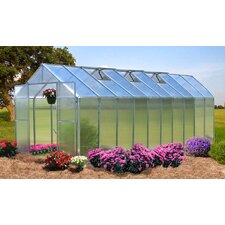 Monticello 8 Ft. W x 20 Ft. D Polycarbonate Greenhouse