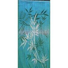 Bamboo Scene Single Curtain Panel