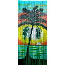 Jamaican Sunset Single Curtain Panel