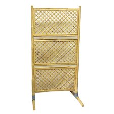 Trellis Screen with PVC Legs