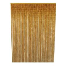 Natural Bamboo Single Curtain Panel