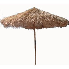 9' Thatched Bamboo Market Umbrella