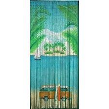 Classic Beach Single Curtain Panel