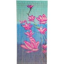 Natrual Bamboo Multiple Flower Single Curtain Panel