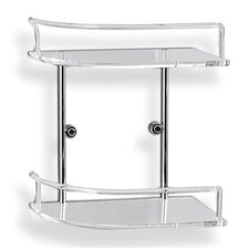 Tiered Clear Shower Tray