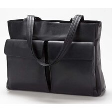 Vachetta Two Pocket Tote Bag