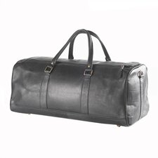 "Vachetta Barrel 23"" Leather Carry-On Duffel"