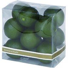 Faux Lime Decor (Set of 12)