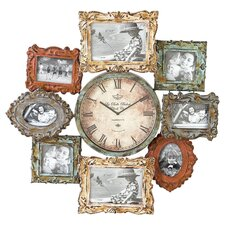 Cromwell Frame Collage Wall Clock