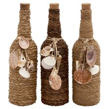 Shaliene 3 Piece Bottle Decor Set