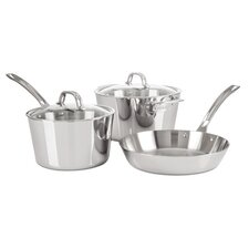 Contemporary 5-Piece Starter Cookware Set