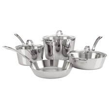 Contemporary 7-Piece Cookware Set