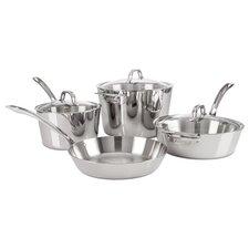 Contemporary 7-Piece Cookware Set