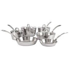 Contemporary 10-Piece Cookware Set