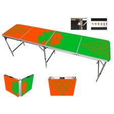 Irish Beer Pong Table in Standard Aluminum