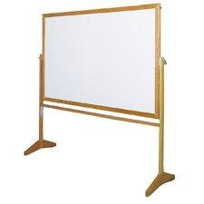 Premiere Free Standing Reversible Whiteboard, 4' x 5'