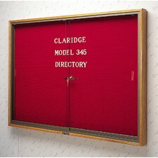 No. 345 Wood Framed Sliding  Door Directory