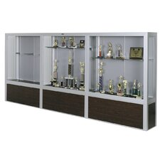 Freestanding Display Case with Laminate Base