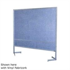 Premiere Portable Space Divider with White Markerboard