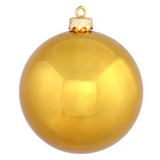 UV Drilled Shiny Ball Ornament (Set of 12)