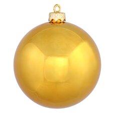 UV Drilled Shiny Ball Ornament (Set of 6)