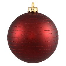 Ball Christmas Ornament (Set of 2)