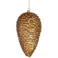 Glitter Pinecone Christmas Ornament