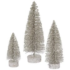 3 Piece Oval Christmas Tree Set