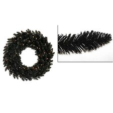 Ashley Spruce Christmas Wreath with Lights