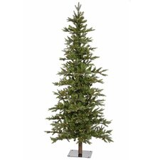 7' Shawnee Alpine Style Artificial Christmas Tree with LED Clear Lights
