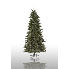 Camdon Fir 7.5' Green Artificial Christmas Tree with 700 Pre-Lit Clear Lights with Stand with Stand