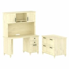 Volcano Dusk 3-Piece Standard Desk Office Suite